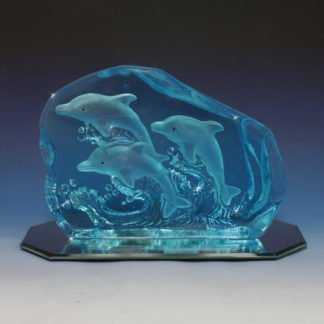 Crystal Dolphin Figurine