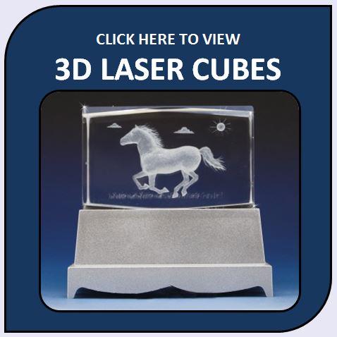 3D Laser Cubes