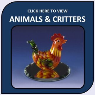 Animals, Critters & More Art Glass Figurines