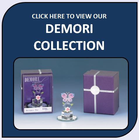 Demori Collection Glass and Crystal Figurines