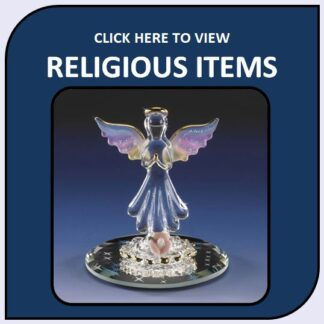 Religious Blown Glass and Crystal Collection