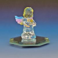 Blown Glass Angel Figurine Glass Gallery