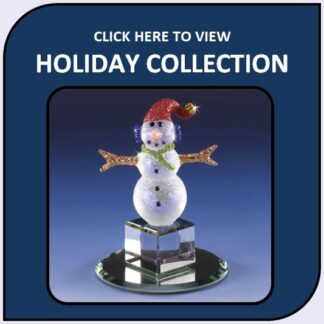 Christmas and Holidays Glass and Crystal Figurines