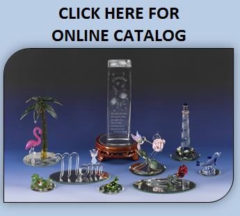 Handmade glass figurines