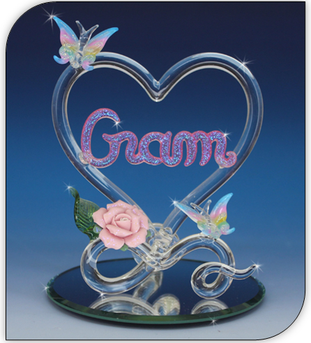 Blown glass gifts for grandma and mother's day gifts