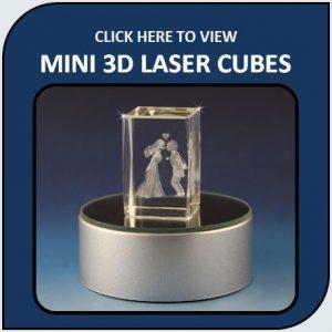 Mini 3D Laser Cubes