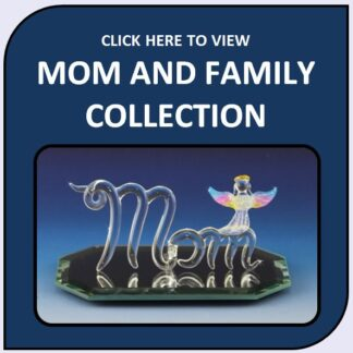 Mother's Day, Family & Friends Blown Glass Figurines