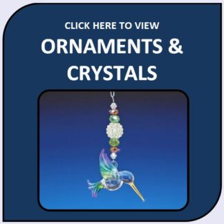 Blown Glass and Crystal Ornaments & Suncatchers